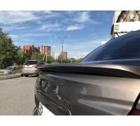 Лип-спойлер Спорт широкий Лада Гранта FL седан