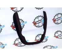 Окантовка накладки консоли приборов 2 DIN Лада Гранта 2190 Обшита кожей