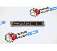 "Орнамент двери задка ""CROSS"" - черный Лада Веста Cross / XRAY Cross"