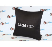 Подушка с надписью Lada