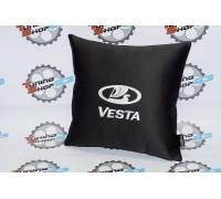 Подушка в автомобиль с надписью Vesta