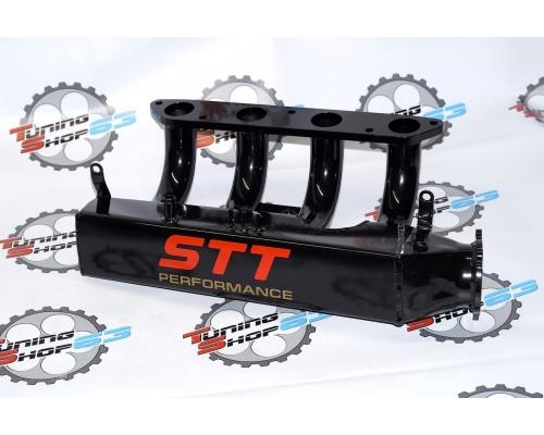 Ресивер «Stt-performance» 16V Lada Priora, квадратный, е-газ (электронная заслонка 21126), фланец ø38мм