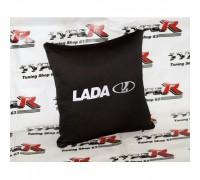 Подушка в автомобиль с надписью Lada